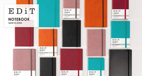 MARK'S EDiT A6 Hardcover Notebook 5mm Grid | Apricot Orange - The Stationery Life!
