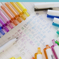 Metallic Outliners Set or Single Retractable Ink Pen 1.0mm | PEACH or Complete SET - The Stationery Life!