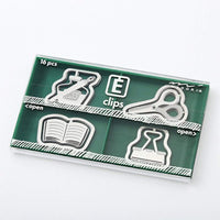 MIDORI E-Clip Etching Clip Fountain Pen Paper Clip - Multiple Styles! - The Stationery Life!
