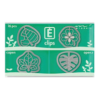 MIDORI E-Clip Etching Clip Leaf Leaves Paper Clip - The Stationery Life!