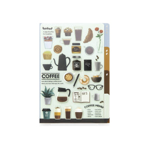 Midori MD A6 3 Pocket Clear Folder | Coffee - The Stationery Life!