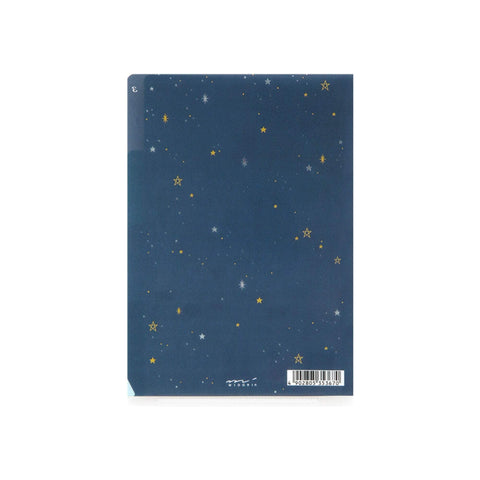 Midori MD A6 3 Pocket Clear Folder | Science - The Stationery Life!