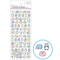 Mind Wave Date Frames Date Markers Schedule Frames Schedule Bujo Tiny Stickers | Animals - The Stationery Life!