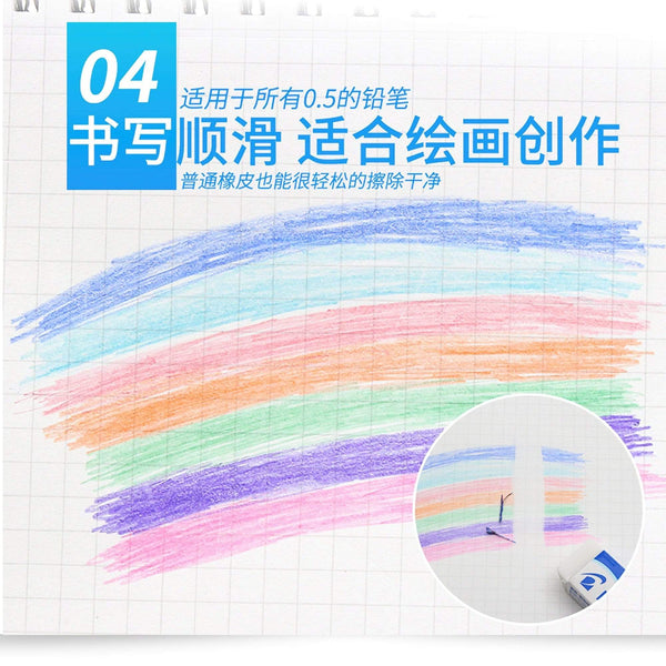 Mitsubishi Uni Sharp Lead Refill Nano Diameter 0.5mm | LAVENDER LEAD - The Stationery Life!
