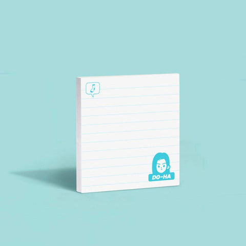 MoteMote Blue Ruled A-Teen Sticky Note | USA Located! - The Stationery Life!