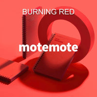 MOTEMOTE Burning Red Task Manager Planner | 100 Days - USA located! - The Stationery Life!
