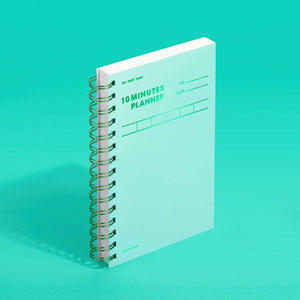 MOTEMOTE Greenery 10 Minute Planner Half Year - USA located! - The Stationery Life!