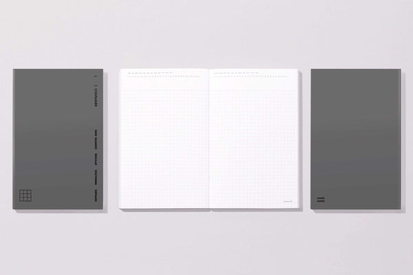 MOTEMOTE Midnight 5mm Graph Grid Container Notebook | USA located! - The Stationery Life!