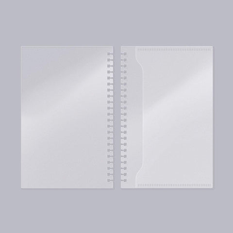 MOTEMOTE Two Piece PVC Cover | Half Year - USA located! - The Stationery Life!