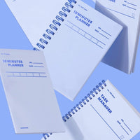 MOTEMOTE Serenity Blue 10 Minute Planner | Half Year - USA located! - The Stationery Life!