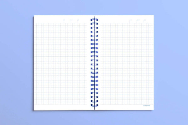 MOTEMOTE Serenity Blue Ten Minute Planner | 100 Days - USA Located! - The Stationery Life!