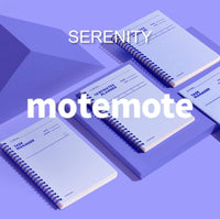 MOTEMOTE Serenity Task Manager Planner | 31 Days - USA located! - The Stationery Life!