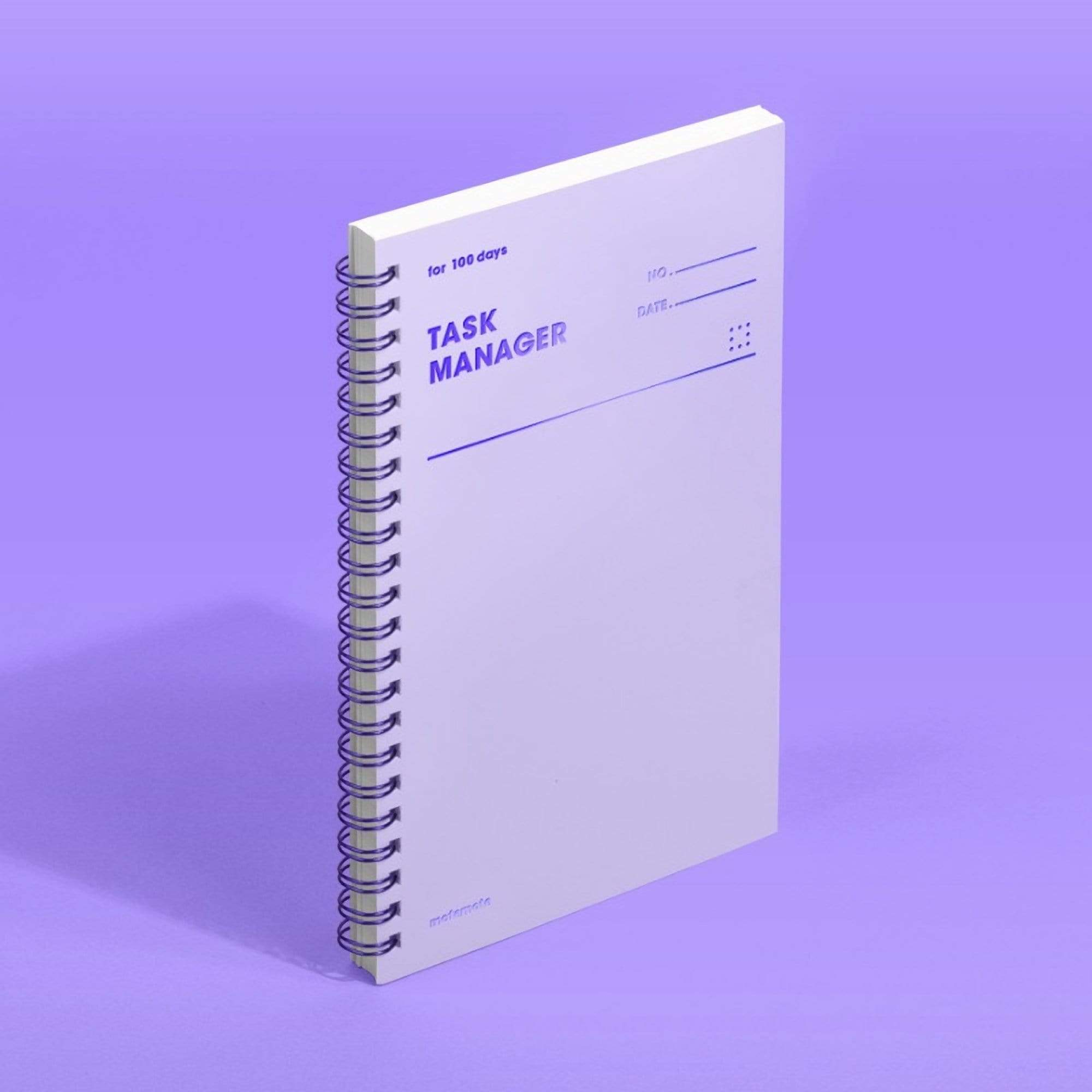MOTEMOTE Violet Task Manager Planner | 100 Days - USA located! - The Stationery Life!