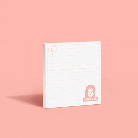 MoteMote Yellow Grid A-Teen Sticky Note | USA Located! - The Stationery Life!