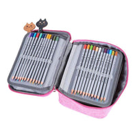 New Waterproof 72 Slots Pencil Pen Storage Case - The Stationery Life!