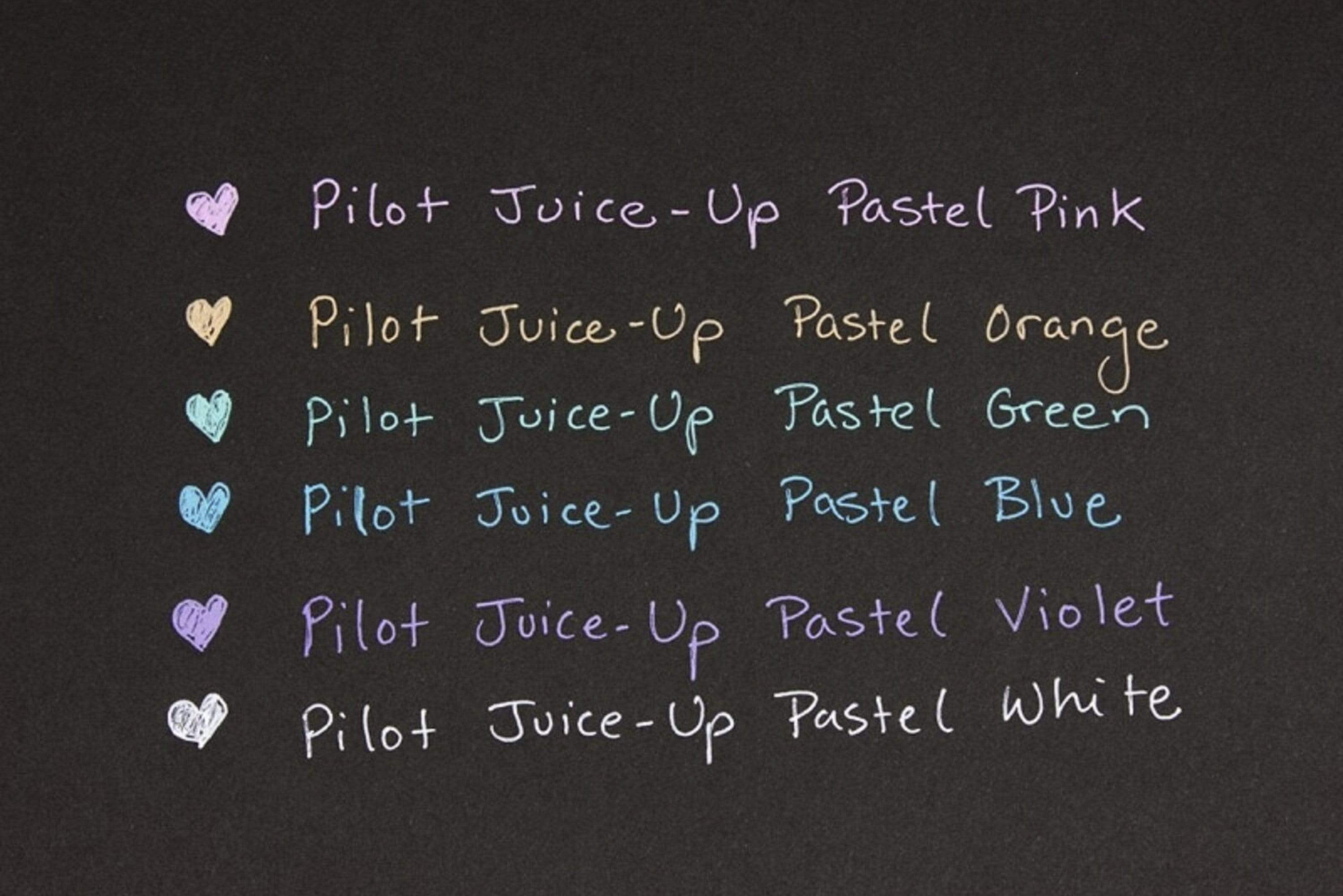 PASTEL Pilot Juice Up Single Pen or Full Set Pilot Gel Pen | 0.4mm - The Stationery Life!