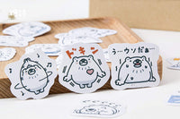 Premium Animal Die-Cut Stickers Polar Bear Arctic Bear - The Stationery Life!