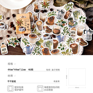 Premium Die-Cut Coffee Smoothie Frappe Frappuccino Drinks Stickers - The Stationery Life!