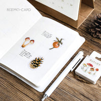 Premium Die-Cut Stickers Fall Autumn Mabon Leaves Acorns Pine cones - The Stationery Life!