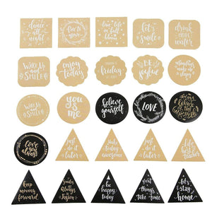 Premium Die-Cut Stickers Motivational Blessings Phrases - The Stationery Life!