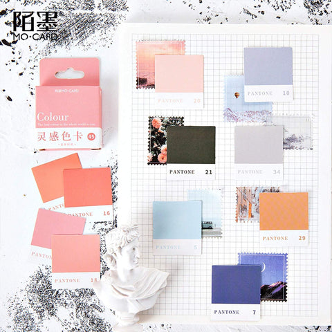 Premium Die-Cut Stickers Pantone Color Block Frames - The Stationery Life!
