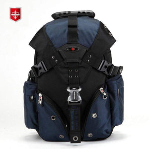 Swiss Waterproof Travel Bags Laptop Backpack 15.6'' Multi-functional Schoolbag Waterproof - The Stationery Life!