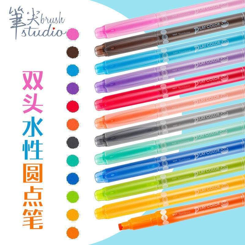 Tombow Play Color Dot - Japan Import - Highlighter - The Stationery Life!