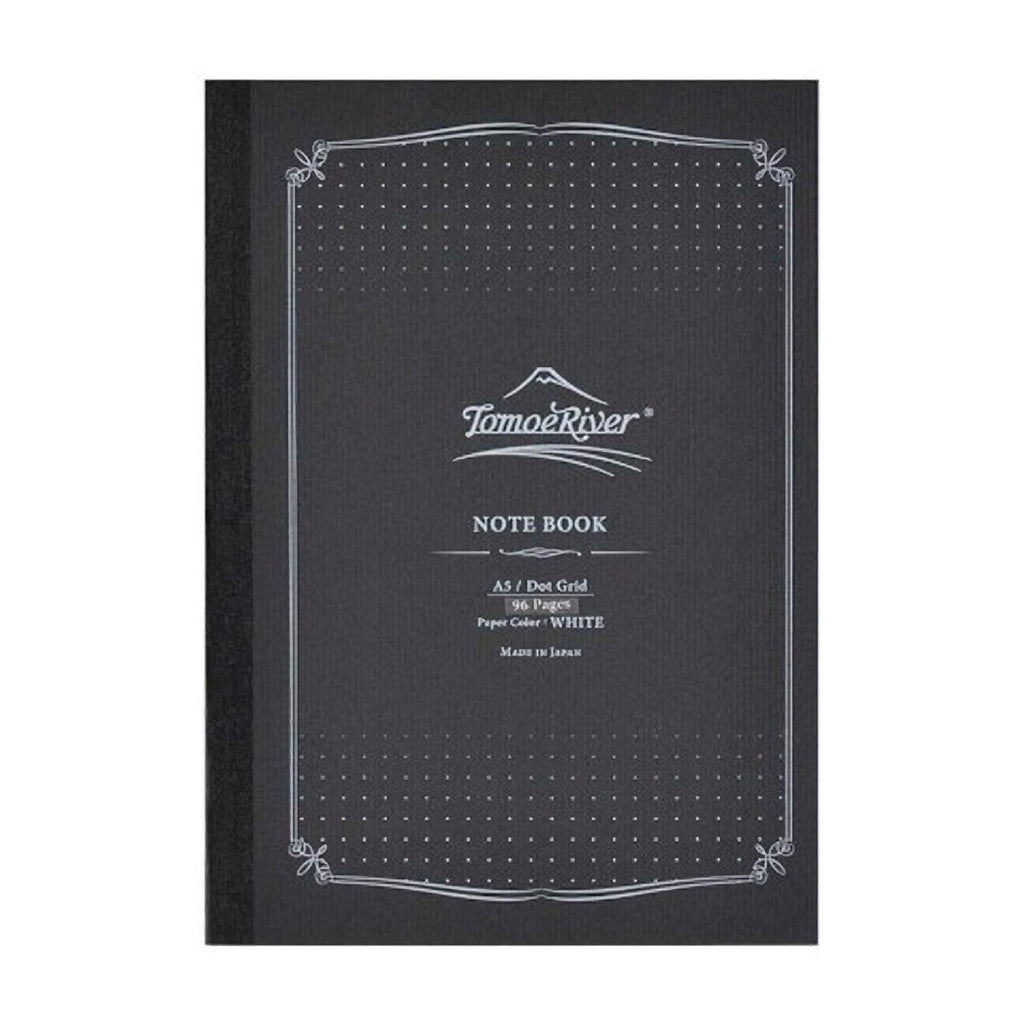 Tomoe River 52 gsm Dot Grid Lay Flat Notebook White Paper | A5 96 sheets - The Stationery Life!