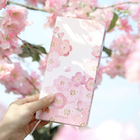 Weeks Size Versatile Daily Planner Fountain Pen Friendly 80g Paper | Sakura Cherry Blossom - The Stationery Life!