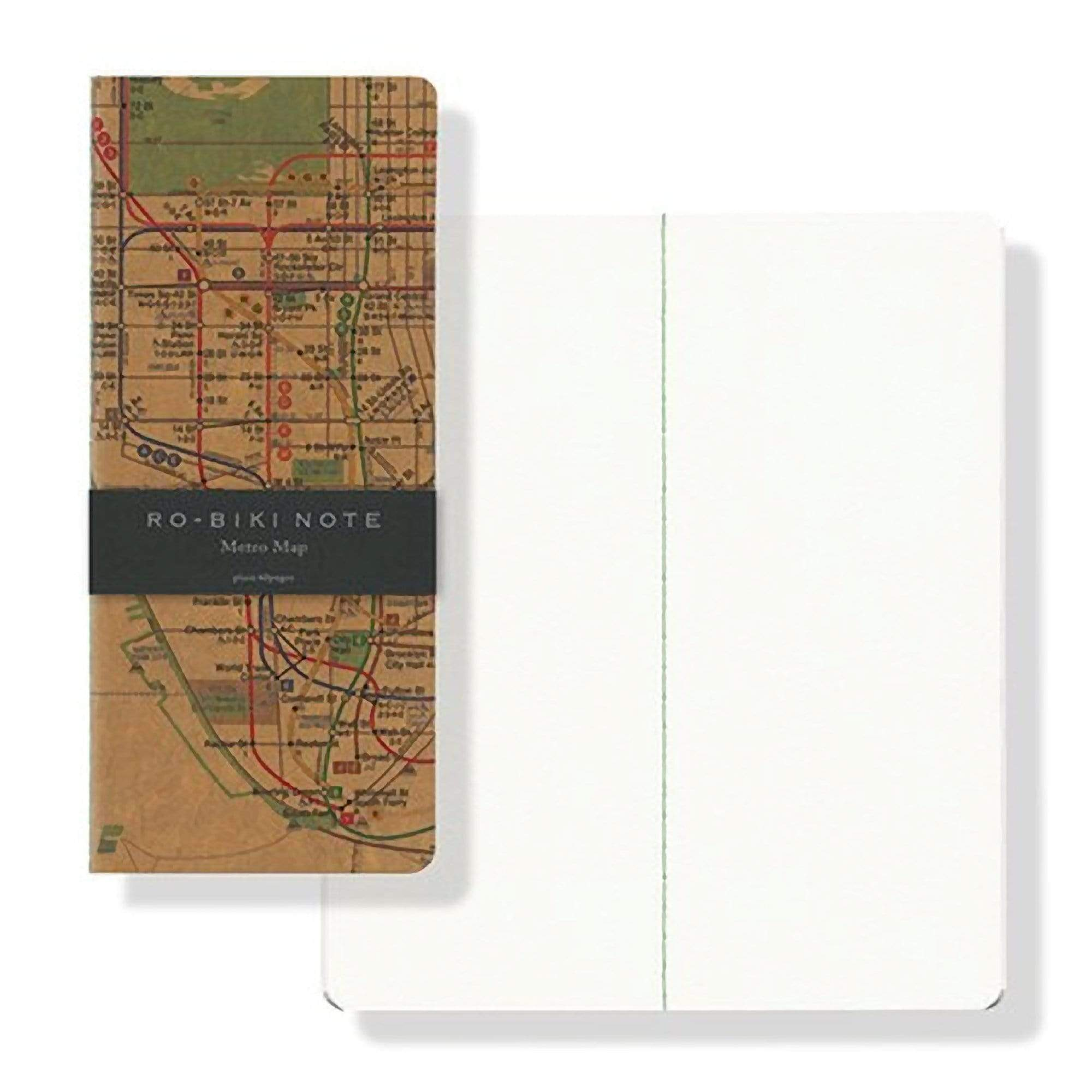 "Yamamoto Ro-Biki Notebook 3.6"" x 8.3"" Blank Basic Chiffon Paper 