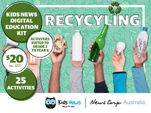 Kids News Digital Education Kit - Recycling
