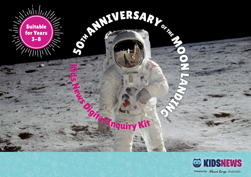 DIGITAL INQUIRY KIT -- 50th ANNIVERSARY OF THE MOON LANDING