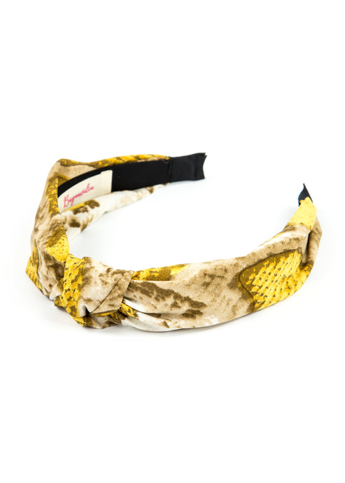 DIADEMA SNAKE YELLOW
