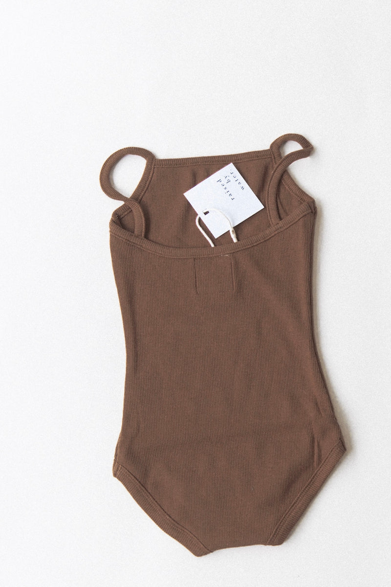 Kids Essential Body Suit | Espresso [PREORDER]
