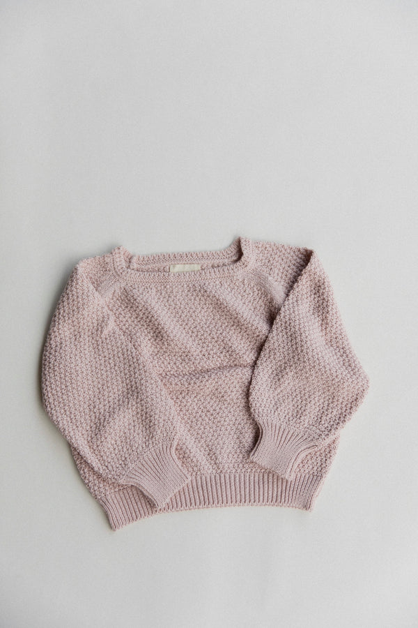 Kids Everyday Sweater | Rose Smoke