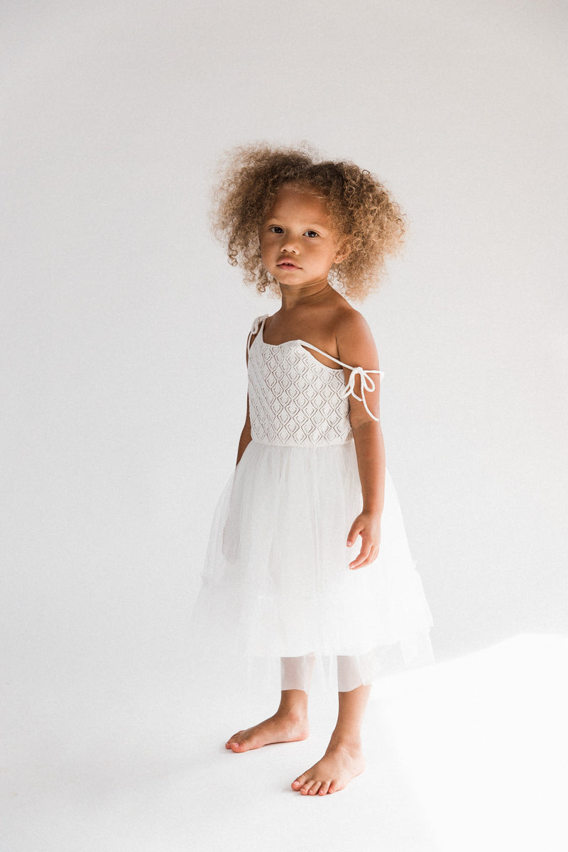 Elle Dress | White