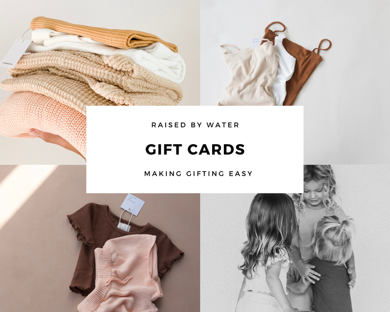 Raised By Water Gift Card