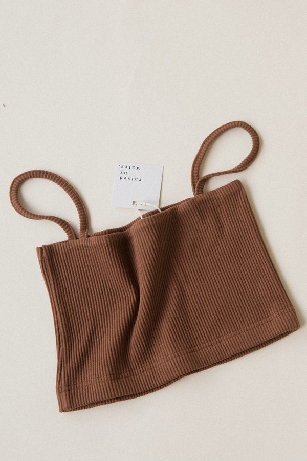 Women's Everyday Crop | Brown