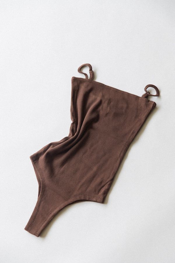 Women's Essential Body Suit | Espresso