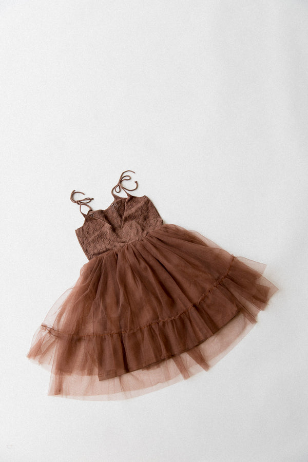 Elle Dress | Dark Brown