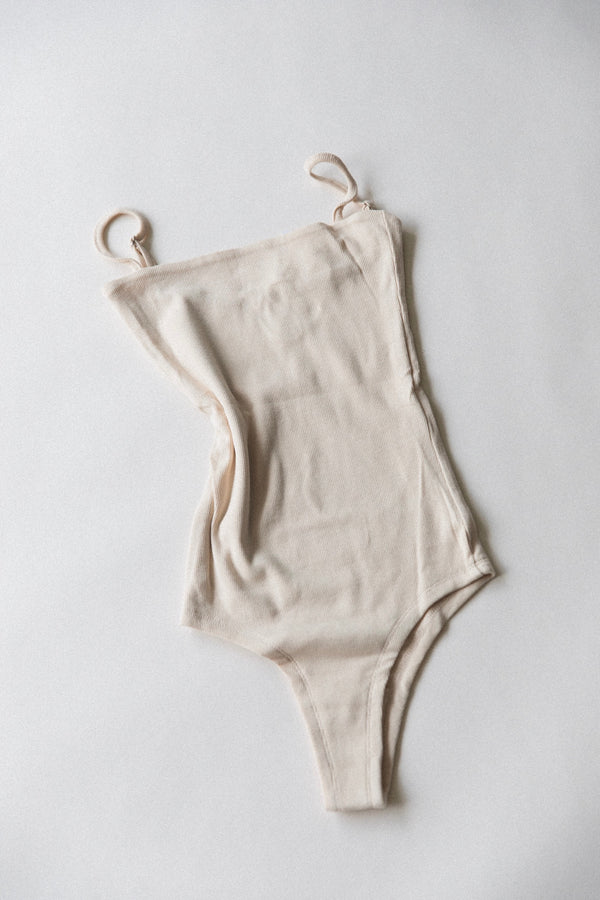 Women's Essential Body Suit | Sand