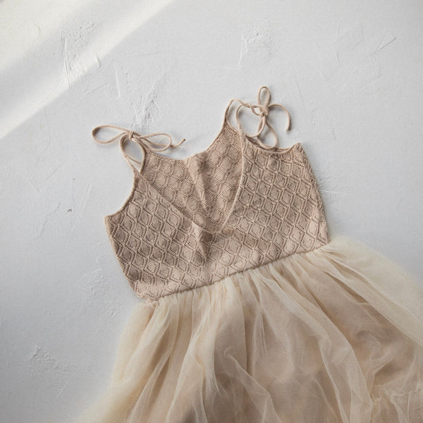 Elle Dress | Beige