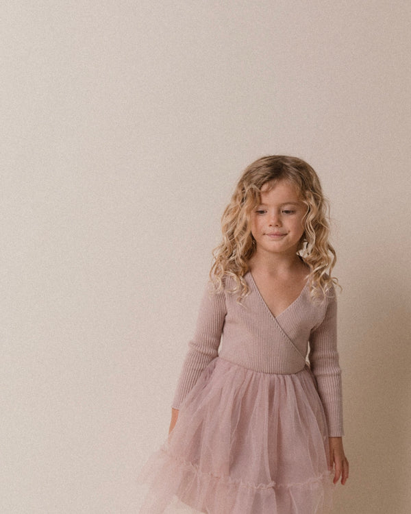 Winter Sienna Dress | Smokey Lavender