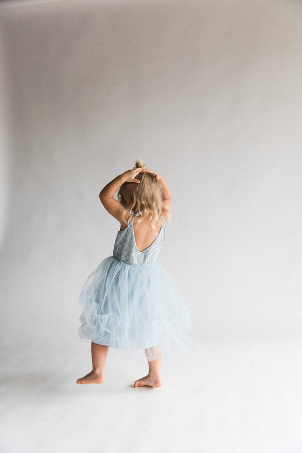 Elle Dress | Elsa Blue