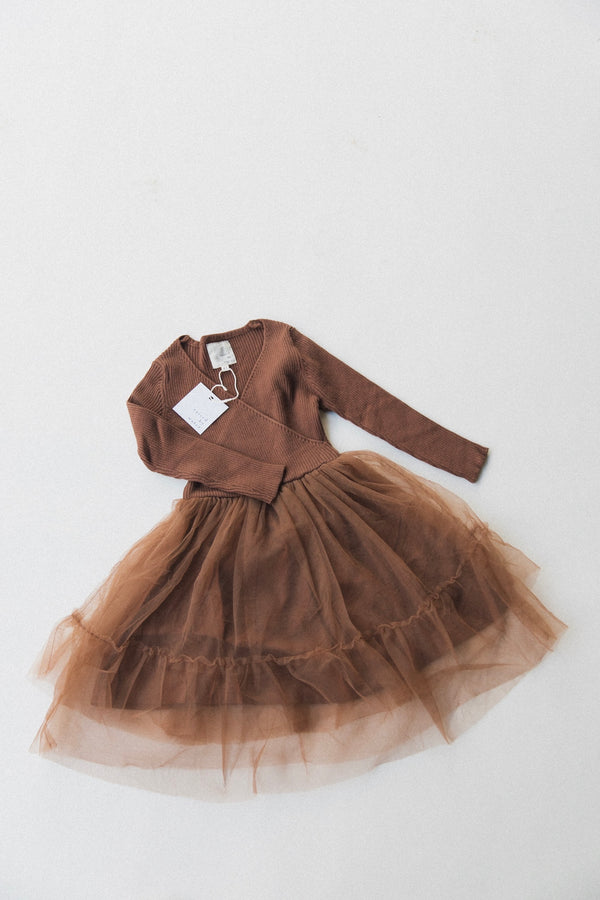Winter Sienna Dress | Brown