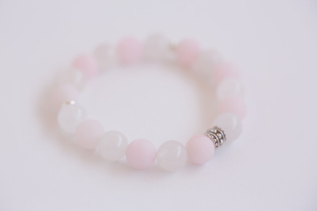 Crystal Bracelet - Rose Quartz (Self Love)
