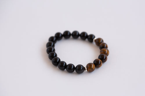 Crystal Bracelet - Tigers Eye (Protection)