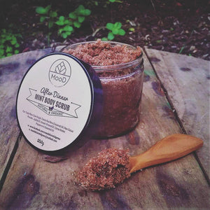 Natural Organic Body Scrub -  MINT CHOCOLATE