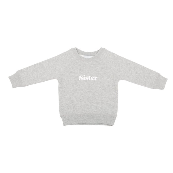 Sister oversized sweatshirt - grey marl