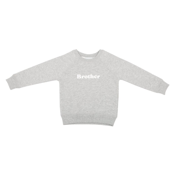 Brother oversized sweatshirt - grey marl